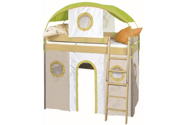 Roba Etagenbetthusse,beige, mit Klettband