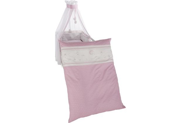"""Roba Kinderbettgarnitur 4-teilg \""""Glücksengel rosa\"""""""
