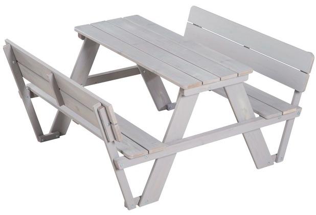 Roba Kindersitzgruppe \'PICKNICK for 4\' Deluxe, mit Lehne Outdoor Deluxe
