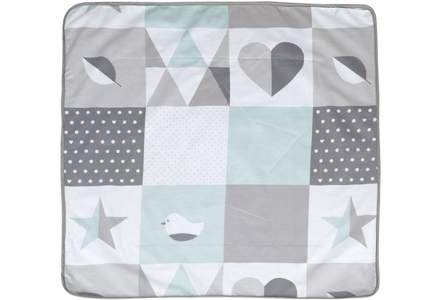 Roba Kuscheldecke Happy Patch mint