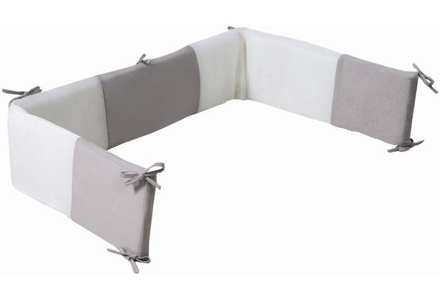 Roba Nestchen Air PLUS \'safe asleep\' Jersey Grau safe asleep®