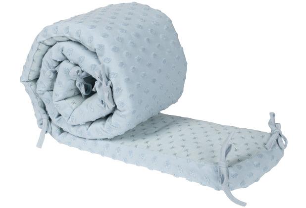 Roba Nestchen passend für Babybetten 60x120cm oder 70x140 cm Lil Planet türkis
