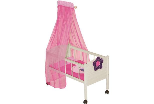 Roba Puppenstandbett Happy Fee inklusive Textilausstattung