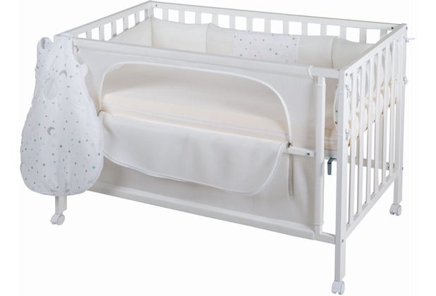Roba Room Bed 60x120 cm Sternenzauber safe asleep®