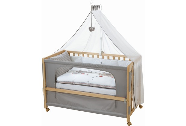 "Roba Room Bed ""Jumbotwins\"", Holz natur"