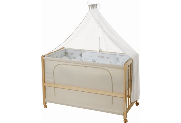 """Roba Room Bed \""""Tierfreunde\"""", Holz natur"""
