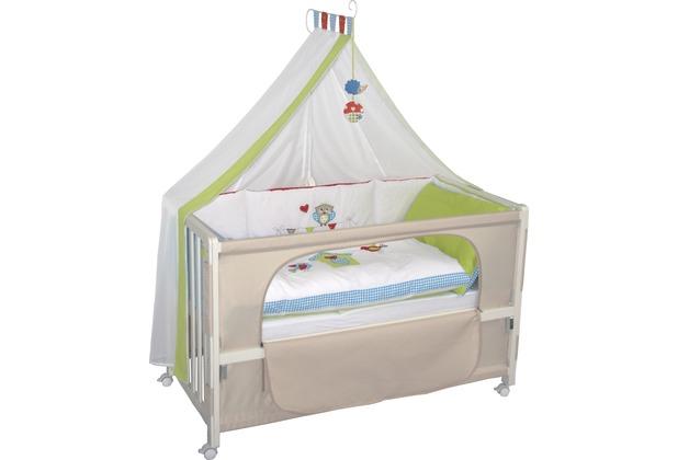 """Roba Room Bed \""""Waldhochzeit\"""", weiß lackiert"""