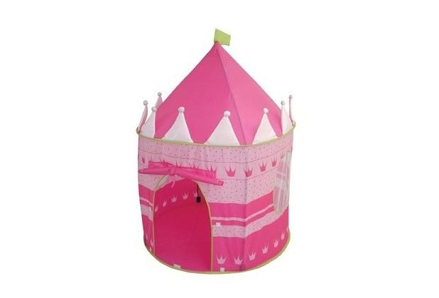 Roba Spielzelt Schloß, Farbe rosa/pink, aus