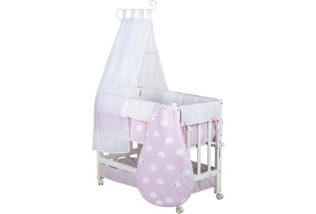 Roba Stubenbett Babysitter 3 in 1 Kleine Wolke rosa