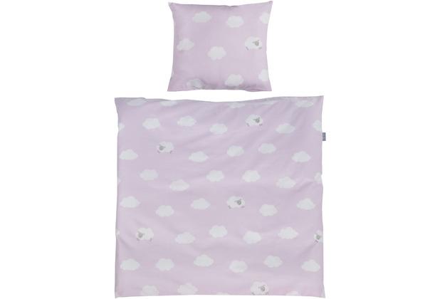 Roba Wiegenset 2-teilig Kleine Wolke rosa