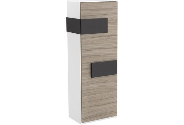 Röhr Schrank Driftwood Tür rechts Applikation Anthrazit