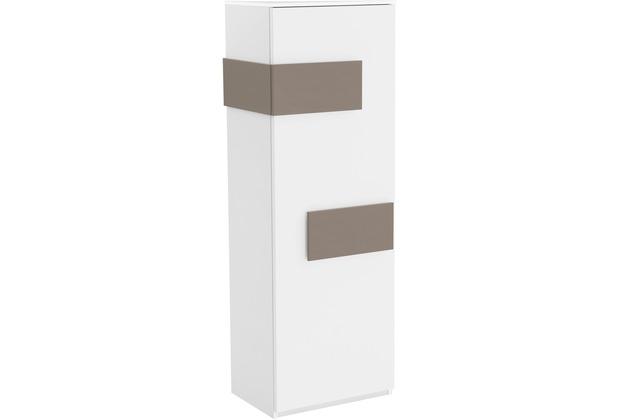 Röhr Schrank Weiß Tür rechts Applikation Cubanit