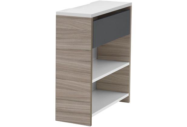 Röhr Funktionsanbau für Schreibtisch Driftwood 25x72x67 cm Applikation Anthrazit