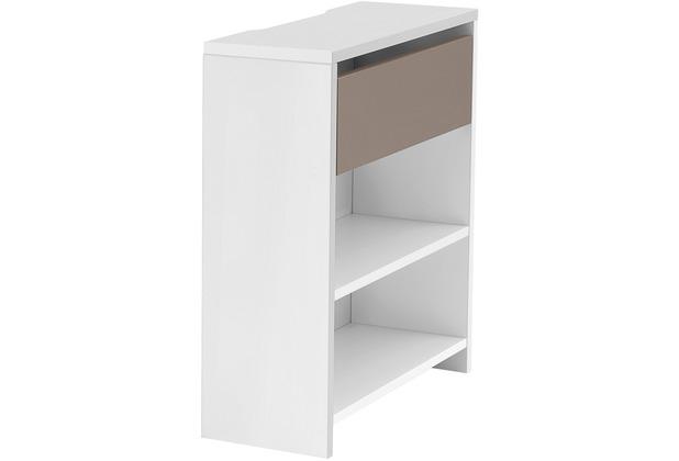 Röhr Funktionsanbau für Schreibtisch Weiß 25x72x67 cm Applikation Cubanit