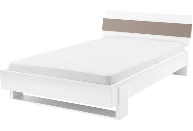 Röhr Jugendbett weiß120x200cm cubanit