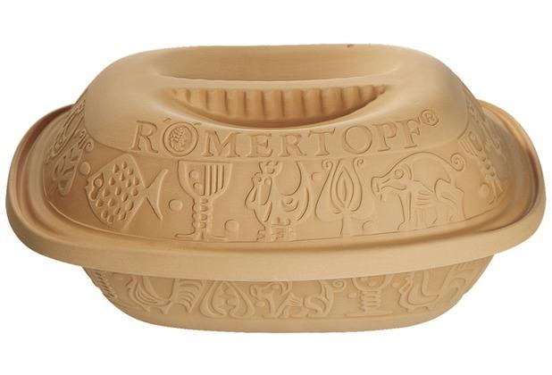 "Römertopf Römertopf \""Der Klassiker\"" - 1,5 kg rot, 30 x 19,5 x 15,5 cm, postsicher"