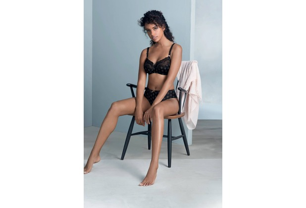 Rosa Faia Mila Taillenslip schwarz 36