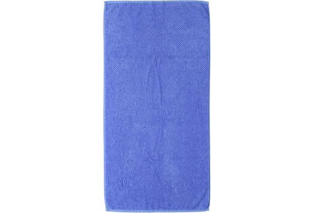 s.Oliver Handtücher Uni 3500 blau Duschtuch 70x140 cm blau