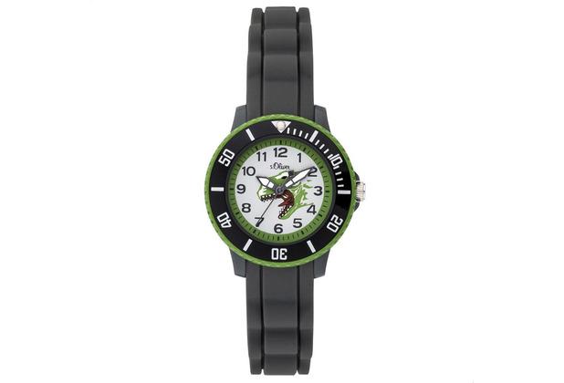 s.Oliver Kinderuhr MIT GRAVUR (z.B. Namen) SO-3763-PQ Kinder Armbanduhr mehrfarbig