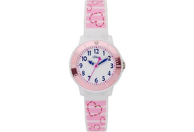 s.Oliver Kinderuhr SO-3762-PQ Kinder Armbanduhr mehrfarbig