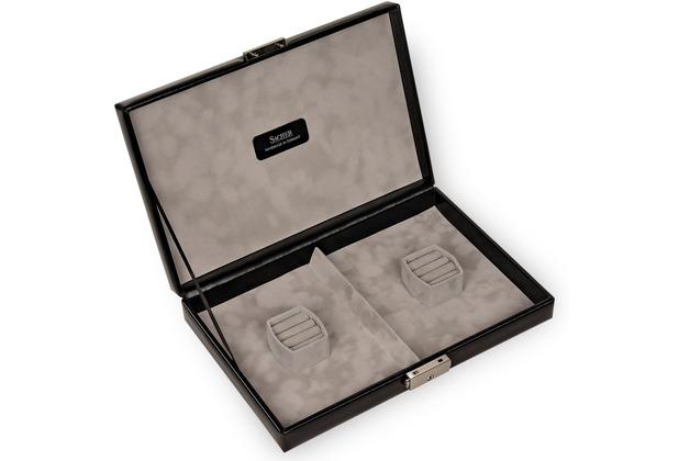 Sacher Etui für Schmucksets / VARIO CASO, Leder schwarz