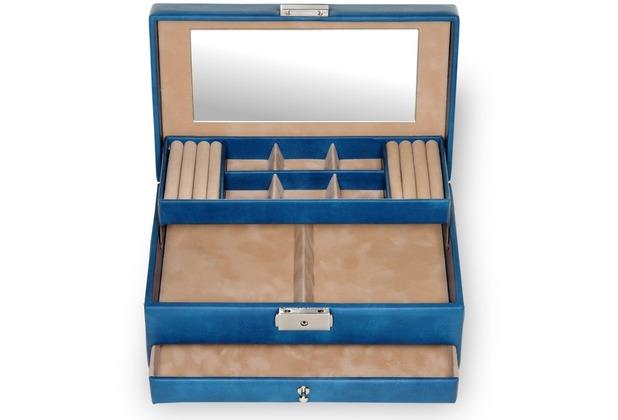 Sacher Schmuckkoffer Helen / coloranti blau