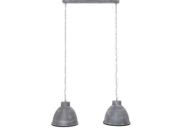 SalesFever Hängeleuchte 125 x 150 cm dunkelgrau