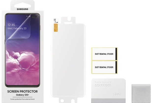 Samsung 2er-Pack Displayschutzfolie Galaxy S10+