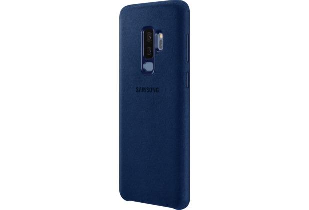 Samsung Alcantara Cover, Galaxy S9+, Blau