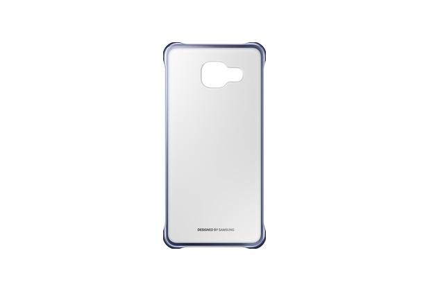 Samsung Clear Cover EF-QA310 für Galaxy A3 (2016), Schwarz