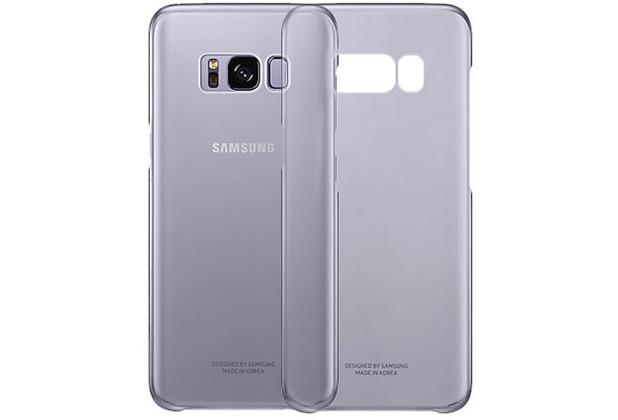 Samsung Clear Cover EF-QG955CV für Galaxy S8+ violett