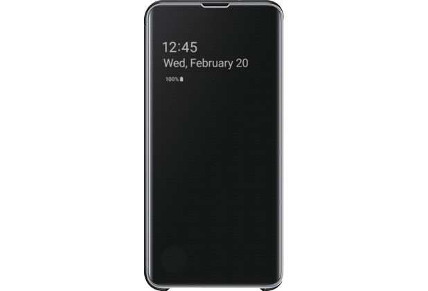 Samsung Clear View Cover Galaxy S10e, black