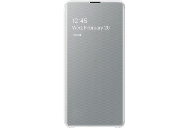 Samsung Clear View Cover Galaxy S10e, white