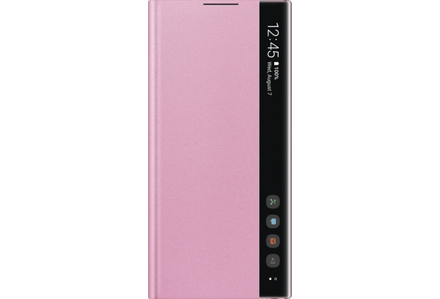 Samsung Clear View Cover SM-N970F / Galaxy Note10, pink