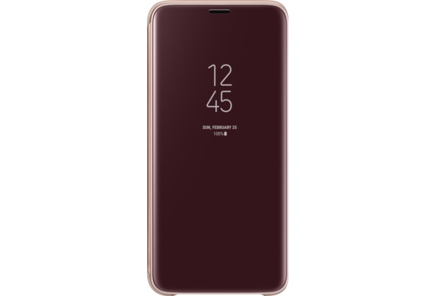 Samsung Clear View Standing Cover, Galaxy S9, Gold