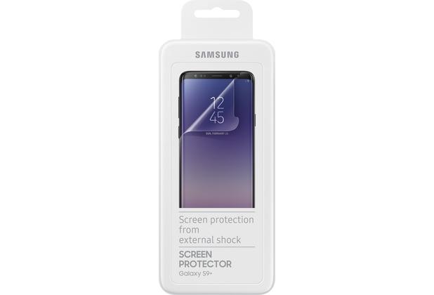 Samsung Display-Schutzfolie, Galaxy S9+,Transparent