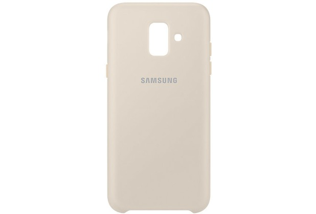 Samsung Dual Layer Cover Galaxy A6 (2018), gold