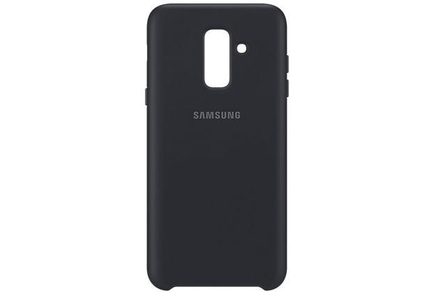 Samsung Dual Layer Cover Galaxy A6 Plus (2018), schwarz