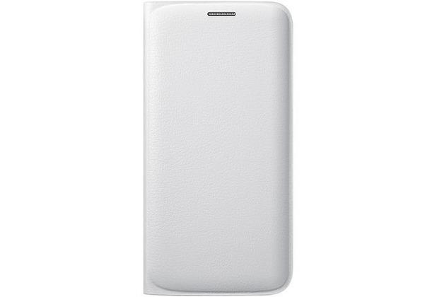 Samsung Flip Wallet, für Galaxy S6 Edge, Weiß
