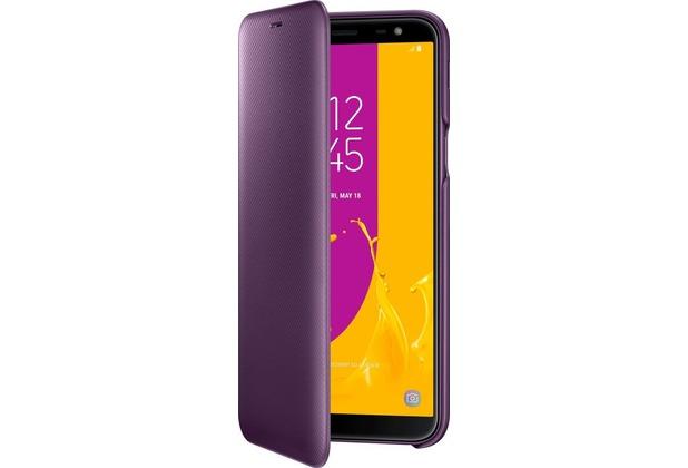 Samsung Flip Wallet, Galaxy J6 (2018), purple