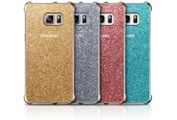 Samsung Glitter Cover EF-XG928 für Galaxy S6 Edge+, Gold