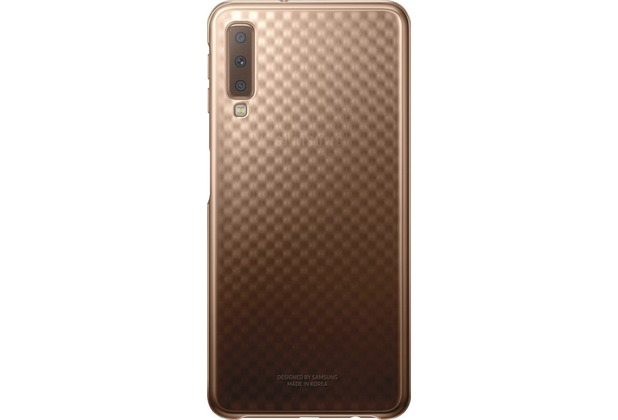 Samsung Gradation Cover Galaxy A7 (2018) gold