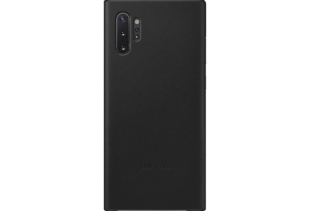 Samsung Leather Cover Galaxy Note 10+ schwarz