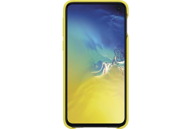 Samsung Leather Cover Galaxy S10e, yellow