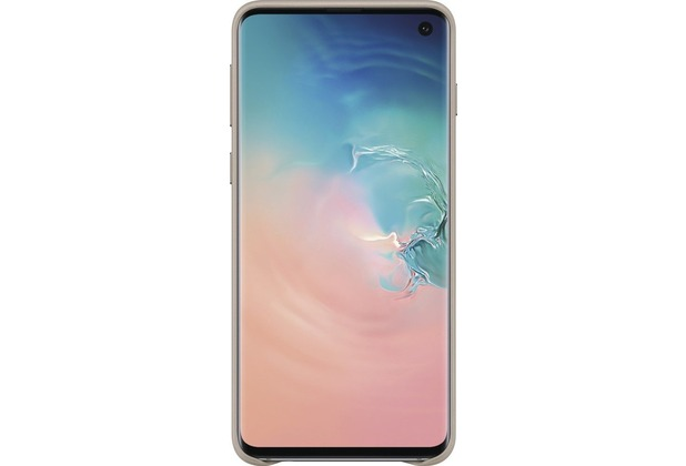 Samsung Leather Cover Galaxy S10, gray