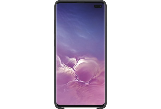 Samsung Leather Cover Galaxy S10+, black