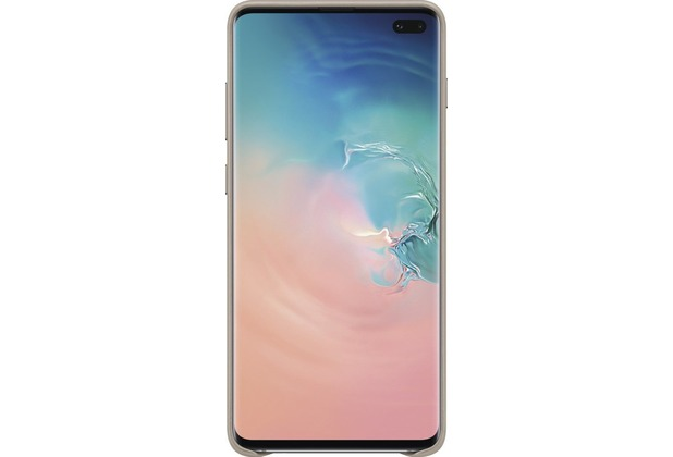 Samsung Leather Cover Galaxy S10+, gray