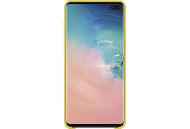 Samsung Leather Cover Galaxy S10+, yellow