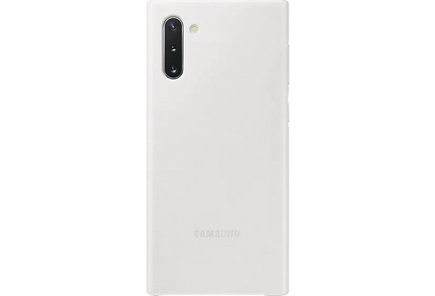 Samsung Leather Cover SM-N970F / Galaxy Note10, white