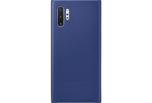 Samsung Leather Cover SM-N975F / Galaxy Note10+, blue